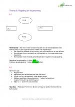 Biologie: regeling en waarneming