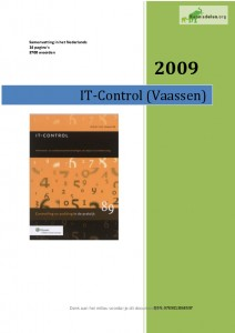 Samenvatting IT-Control Vaassen