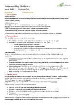 statistiek in 20 stappen Samenvatting