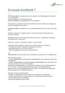 economie in context samenvatting hoofdstuk 5, 6, 7