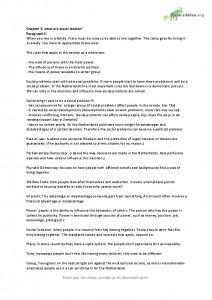 maatschappijleer (TTO) samenvatting h 1 & 2