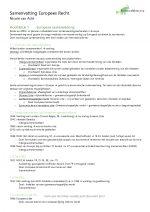 Europees recht, een inleiding + Aanbestedingsrecht