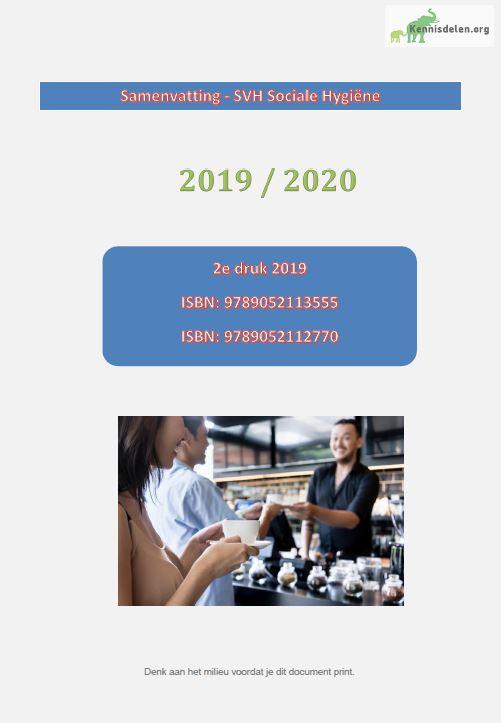 Samenvatting SVH Sociale Hygiene 2019