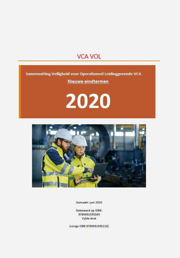 Samenvatting VOL VCA 2020