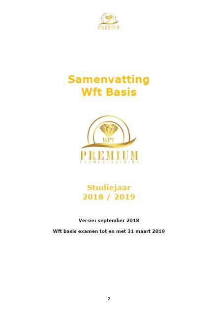 Samenvatting Wft basis 2018