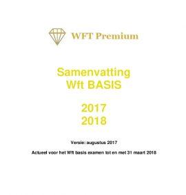 Samenvatting Wft basis 2017 2018