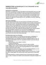 Fysiotherapie 1, Dynamiek van het menselijk bindweefsel 2.1 tm 2.3
