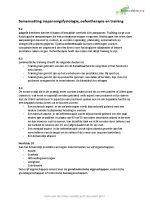 Inspanningsfysiologie, oefentherapie en training Hoofdstuk 9 en 10