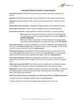 International business summary chapter 1 – 4