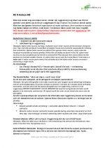 BP Hoorcollege 9 Action
