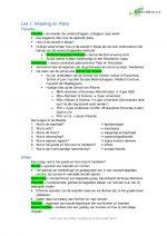 Samenvatting IVK Ethiek (JAAR 1 BLOK 4)