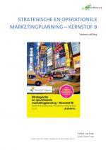 Strategische en Operationele marketingplanning – Kernstof B
