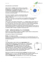 Natuurkunde samenvatting elektriciteit