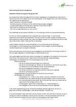 Samenvatting Financieel Management