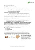Samenvatting Psychologie een Inleiding