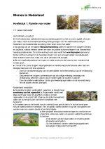 Aardrijkskunde: Wonen in Nederland