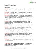 Samenvatting De Geo VWO aardrijkskunde Wonen in Nederland hoofdstuk 1,2,3