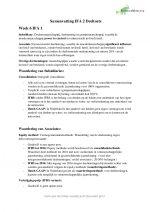 Samenvatting IFA 2