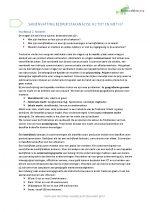 Samenvatting Bedrijfstakanlyse Hoofdstuk 2 t/m 7 met begrippenlijst en uitgewerkte oefentoets
