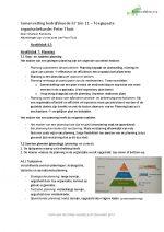 Samenvatting Toegepaste organisatiekunde