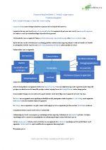 Bedrijfsbeslissingen en financiële verantwoording hoofdstuk 1