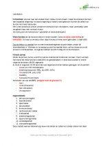 Leerdoelen BMH 1.1 de vitale mens