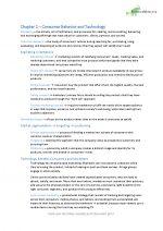 Consumer Behavior – Chapter 1, 3, 4, 5, 9, 13