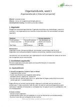 Inleiding organisatiekunde, hfd. 1 t/m 8 samengevat, 7 op tentamen