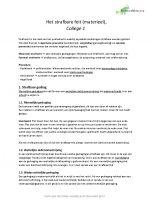 Praktisch Straf(proces)recht, helemaal samengevat, 8 op tentamen