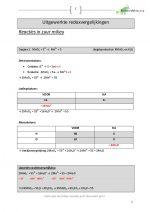 Uitgewerkte redoxvergelijkingen (13)
