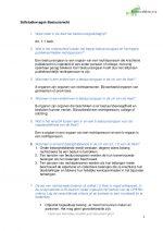 Zelfstudievragen Inleiding Bestuursrecht