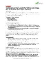 HHS Pedagogiek 2.1 Management en organisatie