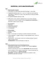 Maatschappijleer 5V samenvatting HFD 1 + 2