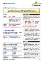Adjectives & Adverbs uitleg