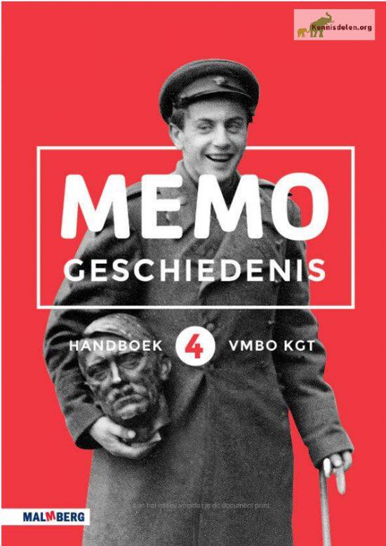 Memo geschiedenis – samenvatting – vmbo-tl 4 – hoofdstuk 4 'de Tweede Wereldoorlog'