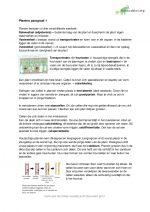 Samenvatting Biologie voor jou 5 vwo Planten