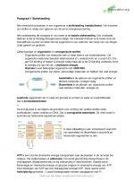 Samenvatting Biologie voor jou 5 vwo Stofwisseling