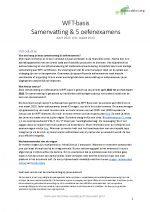 WFT Basis Oefenexamens & Samenvatting