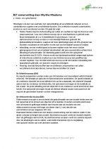 Samenvatting BLT (functionele histologie)