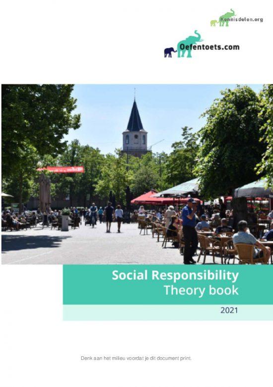 Social Responsibility Summary