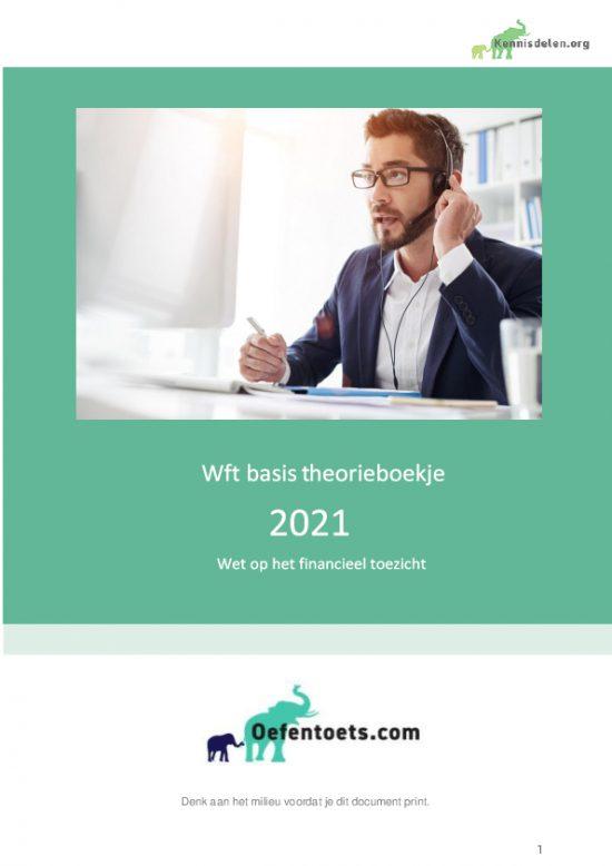 Samenvatting Wft basis 2021