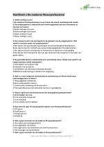 Fitnesstrainer B Examentraining (Meer dan 250 theorie/examenvragen) + Nakijkformulier